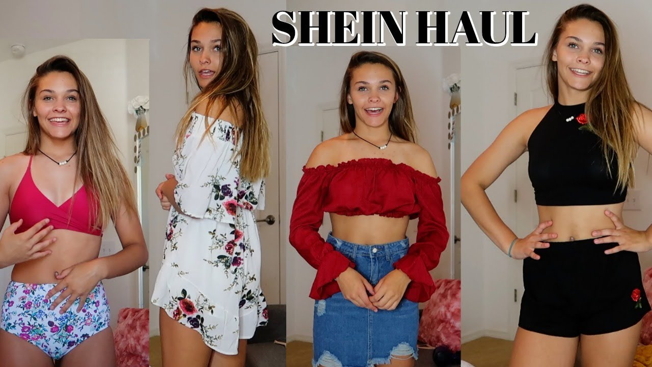 ca5401d4e07e HUGE SHEIN TRY ON HAUL! - YouTube