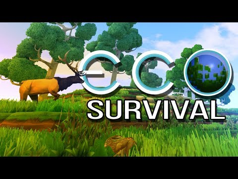 ECO: Survival - 3 - Skill Woes (Open World Survival Gameplay)