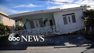 5.8 earthquake, more than 13 aftershocks hit Puerto Rico l ABC News