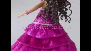 Fofucha Quinceañera Personalizada