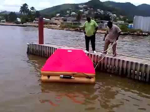 Deploying an Avon 6-person Life Raft