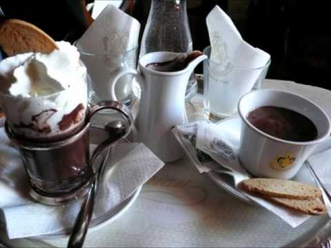 café italien, chocolat belge
