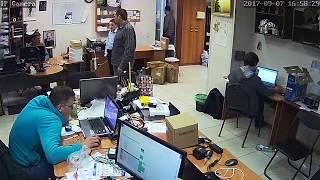 Фрагмент записи видео с камеры Link-D41W