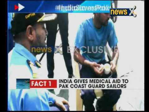 NewsX exclusive on how Indian Coast Guard saved Pakistani sailors
