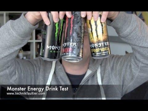 Monster Energy Drink Test
