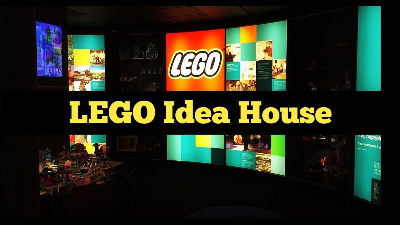 LEGO Idea House Museum Tour Billund Denmark YouTube