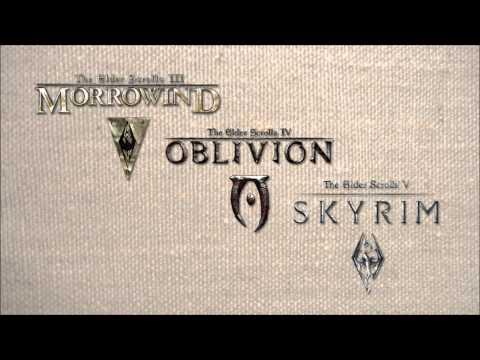 The Elder Scrolls III - V Main Themes - Morrowind, Oblivion, Skyrim