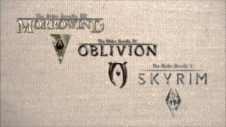 The Elder Scrolls III - V Main Themes - Morrowind, Oblivion, Skyrim