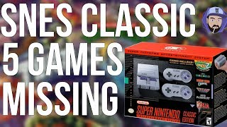 SNES Classic Edition: 5 Games MISSING! | RGT 85