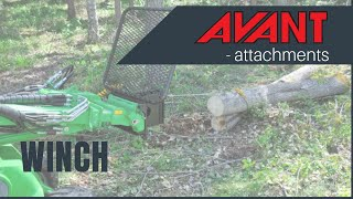 Winch, Avant 300-700 Series attachment Thumbnail