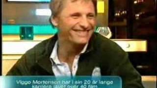 Viggo Mortensen on Go'aften Danmark on TV2