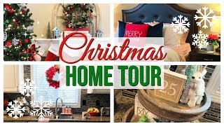 CHRISTMAS HOME TOUR 2018 | FARMHOUSE CHRISTMAS HOME DECOR | VLOGMAS #8