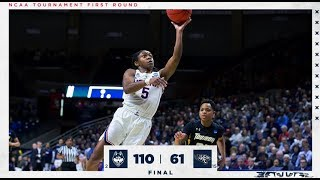 UConn Women's Basketball Highlights v. Towson 03/22/2019 (NCAA Tournament First Round)