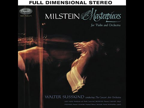 Masterpieces for Violin and Orchestra - Nathan Milstein, Walter Susskind, The Concert Arts Orchestra