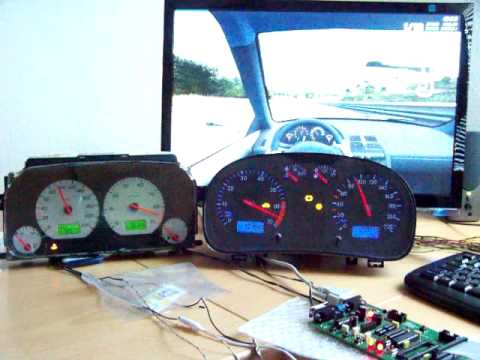 bmw instrument cluster on pc via usb using arduino mega. Black Bedroom Furniture Sets. Home Design Ideas