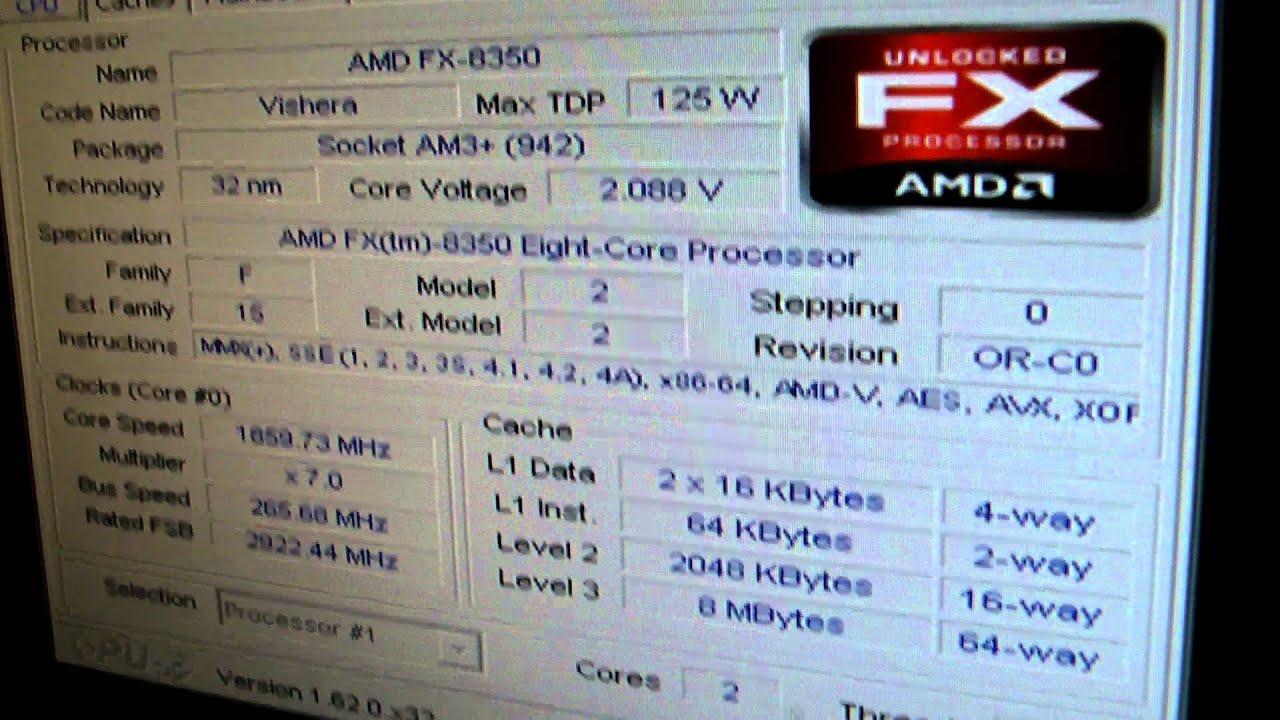 Asus Crosshair V Formula ROG CPU-Z Drivers PC