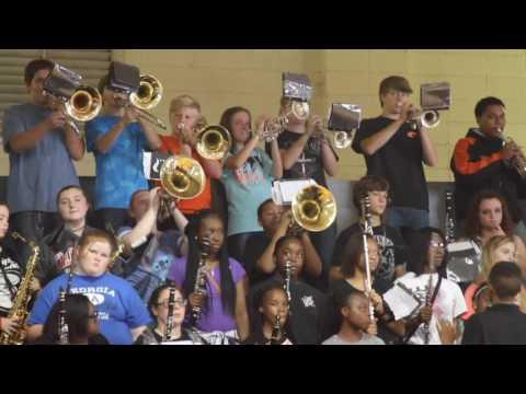 Calhoun City pep rally