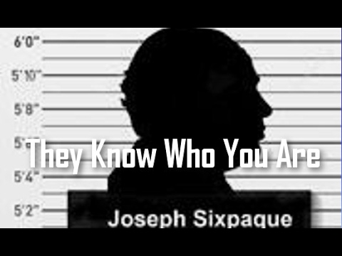 Big Picture Science: They Know Who You Are - 22 Aug 2016