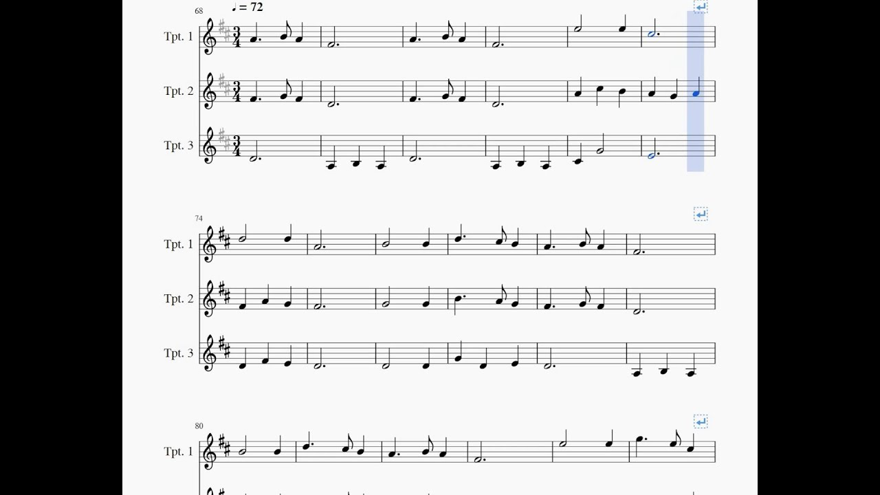 Trumpet Christmas Carols (w/PDFs) - YouTube