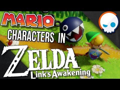 Why are Mario Enemies in Zelda: Link's Awakening? | Gnoggin