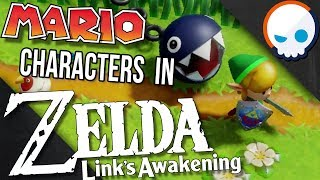 Why are Mario Enemies in Zelda: Link