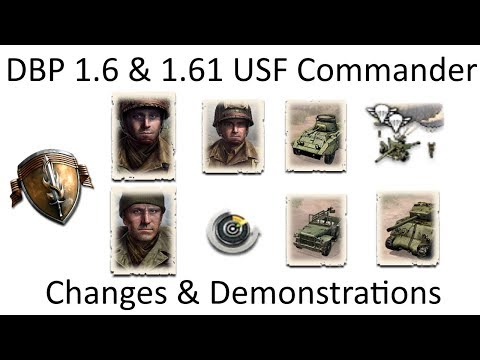 COH2 DBP 1.6 & 1.61 USF Commander Analysis & Demonstrations