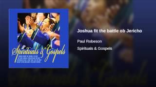 Joshua fit the battle ob Jericho