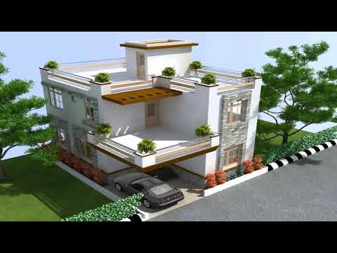 5 Bedroom House Plans India