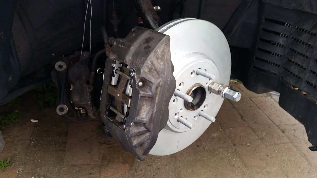How to upgrade with low bud brakes on Toyota Aristo Lexus GS