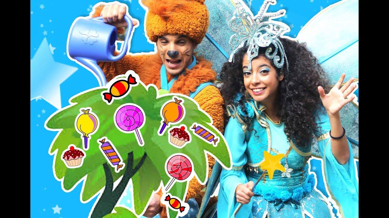 نطنط وأرنوب - شجرة الحلويات | Natnat & Arnoob - Candy Tree