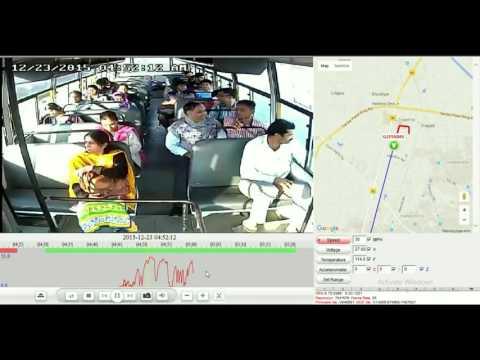 ::SECURUS:: Mobile DVR Live Demo in Bus (School Bus CCTV & GPS)