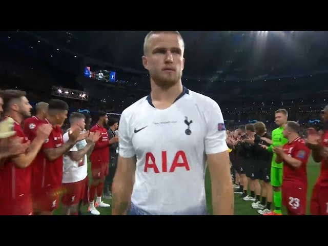 Liverpool give Tottenham a guard of honour after Champions League final