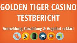 Golden Tiger Casino Testbericht: Anmeldung & Einzahlung erklärt [4K]