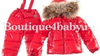 Детский зимний комбинезон, костюм монклер Moncler цвет красный глянец.(, 2015-08-30T11:50:43.000Z)