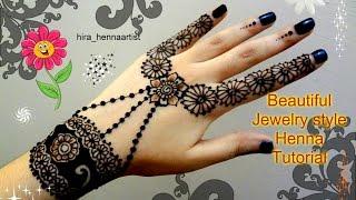 henna diy beautiful jewelry inspired mehndi tutorial for eid weddings