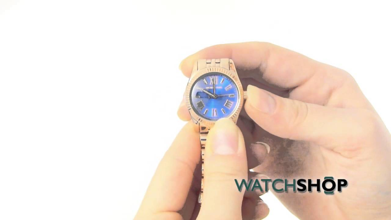 680867ec9269 Michael Kors Ladies  Mini Bradshaw Watch(MK3272) - YouTube