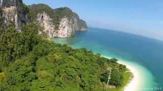 Flying at Koh Lao Liang