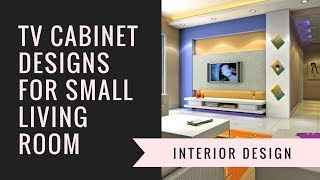 TV Cabinet Designs For Small Living Room