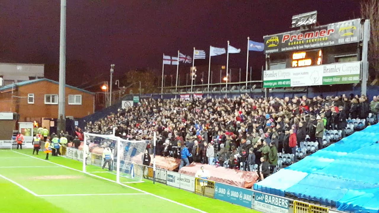 Stockport vow to dish out lifetime bans to fans who ...