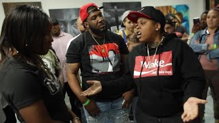C3 VS LA G | GATES OF THE GARDEN | ART OF WAR 305 | FEMALE RAP BATTLE