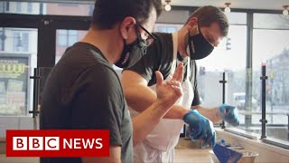 The pizza place with sign language on the menu - BBC News