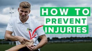 HOW TO PREVENT FOOTBALL INJURIES | Top 3 best tips
