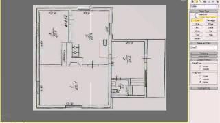 Стены фундамент дома урок1 часть2