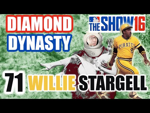 MLB The Show 16 Diamond Dynasty E71 | WILLIE STARGELL DEBUT!