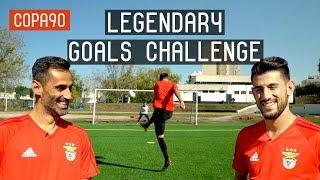 COPA 90 | Benfica Legendary Goals Challenge ft Jonas & Pizzi | European Nights