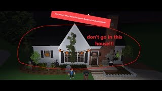 DON'T GO TO THIS HOUSE IN GREENVILLE ROBLOX