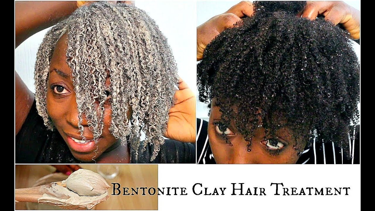 Bentonite Clay Mask Natural Hair