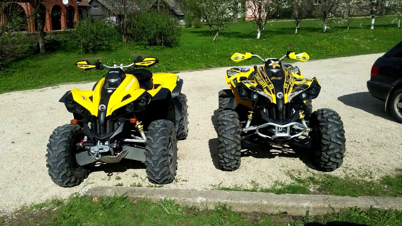 Can Am Renegade 800 >> Brp Can Am Renegade 800 Intro