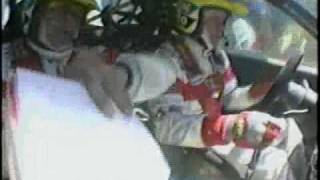 Tommi Makinen Lancer EvoⅣ WRC97  Onboard cam Video