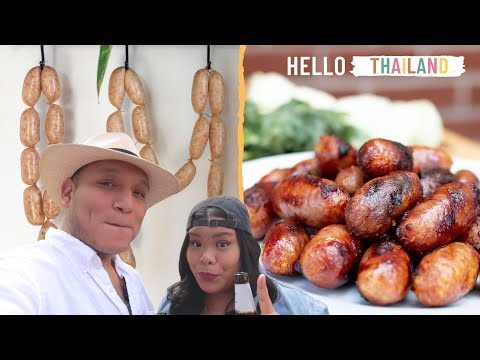 Sai Krok Isan (Northerneastern Thai Fermented Pork Sausage) | Hello THAILAND